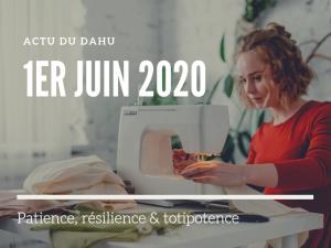 Actu du Dahu – 1er juin 2020