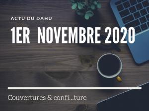 Actu Du Dahu – 1er novembre 2020